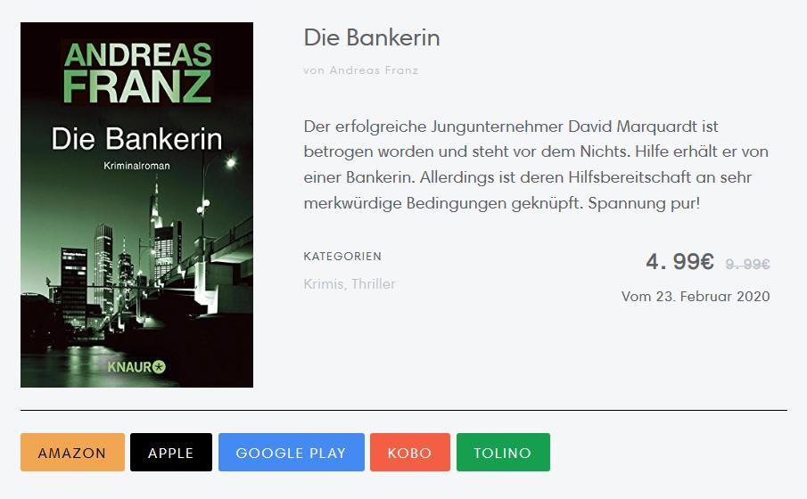 Blurb (Buchbeschreibung bei Buchdeals.de)