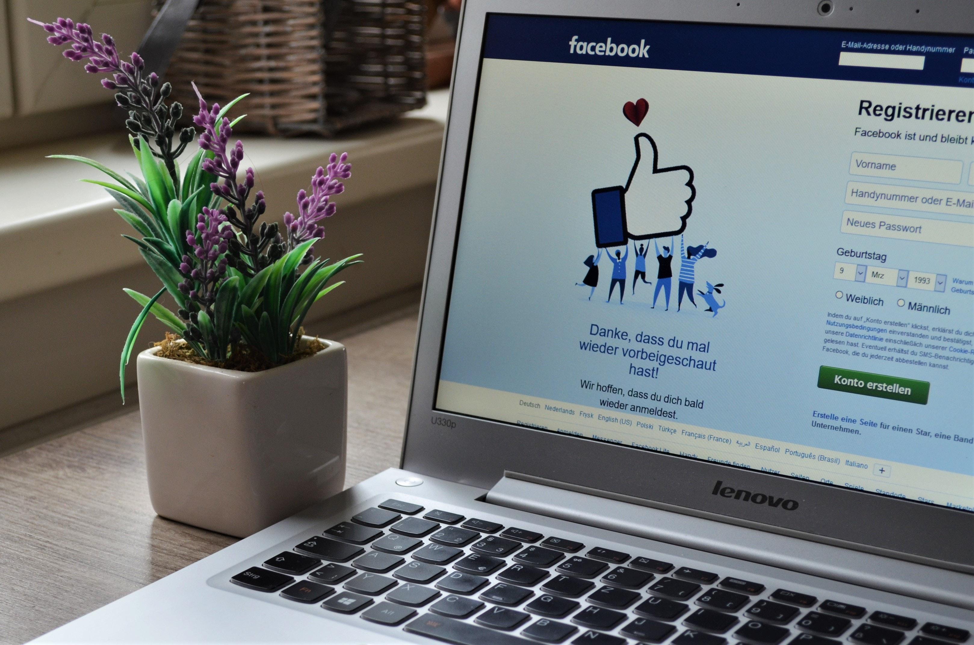 Facebook Live für Ihre virtuelle Buchtour