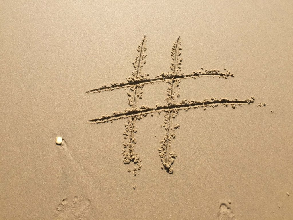 Überarbeiten Sie Ihre Hashtags